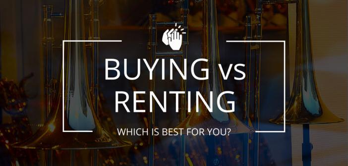 instrument rental vs. instrument buying