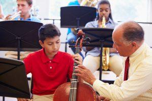 Band director teaching