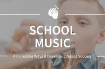School Music Develops Lifelong Success in Children