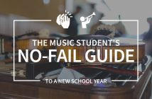 Music Student's No-Fail Guide to a New School Year