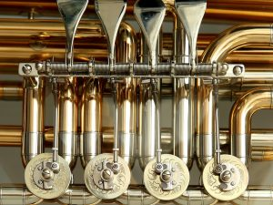 Tuba rotary valves must be cleaned consistently