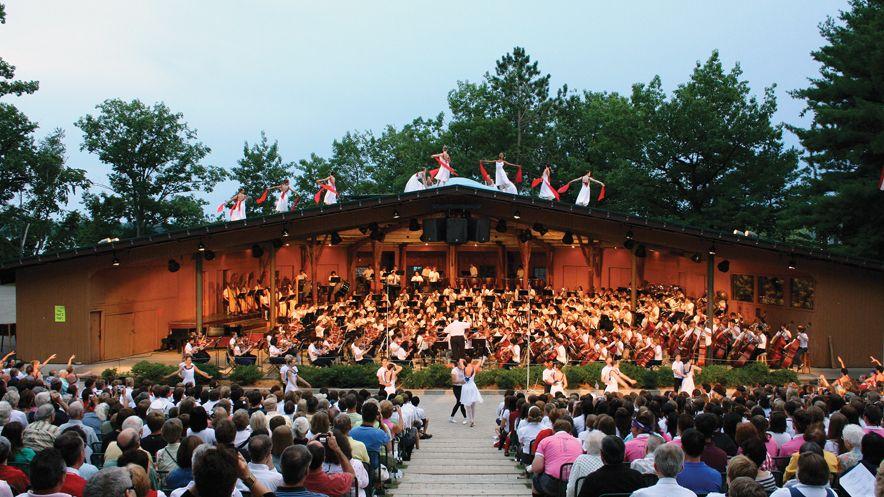 Interlochen Center for the Arts Summer Camp orchestra preformance
