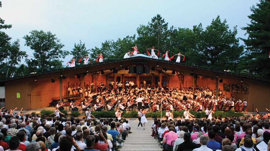 Interlochen Center for the Arts Summer Camp orchestra preformance